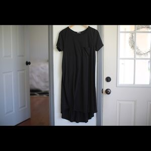 Luluroe black loose fitting dress